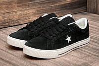"""Кроссовки мужские Converse, черные (2503-1),  [  44 (последняя пара)  ] """"Реплика"""", фото 1"""