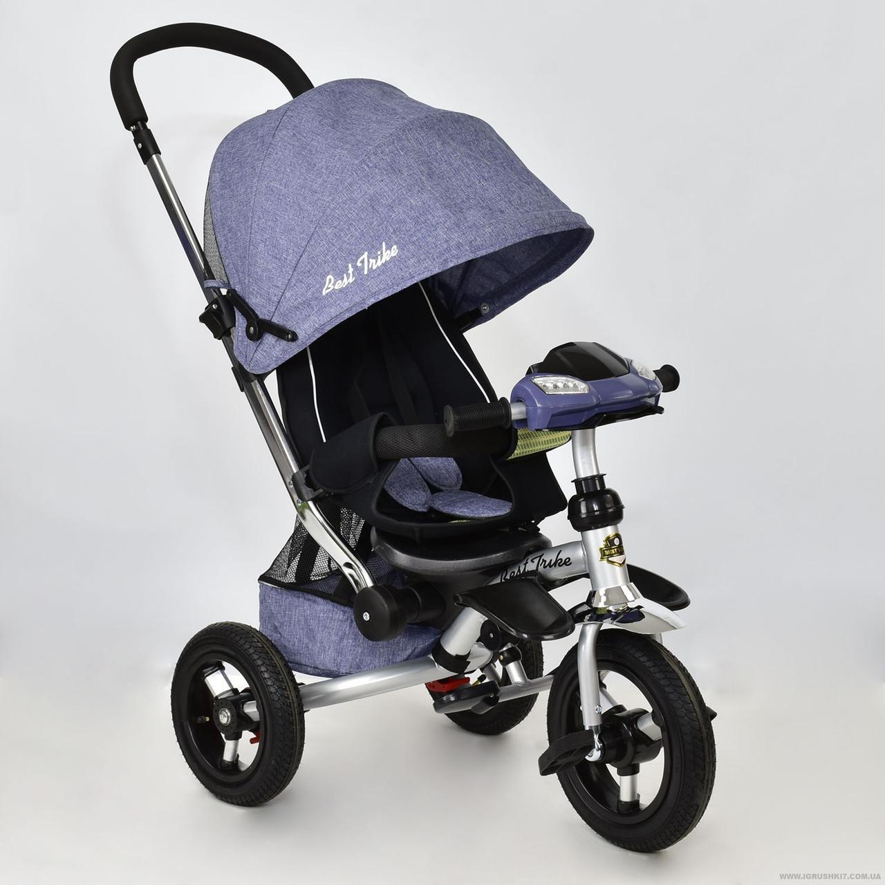 Детский трехколесный велосипедBest Trike арт. 698-1 Джинс