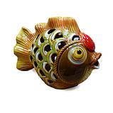 Фигурка аромалампа керамика Рыба, фото 2
