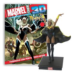Мініатюрна фігура Герої Marvel 3D №12 Шторм (Centauria) масштаб 1:16