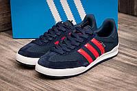 "Кроссовки мужские Adidas Jeans, темно-синий (2526-1),  [  41 43 44 45 46  ] ""Реплика"", фото 1"