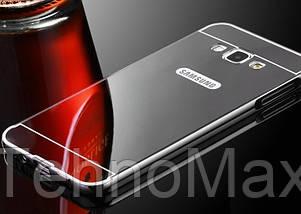 Чехол бампер для Samsung Galaxy J7 J710F 2016 зеркальный, фото 3