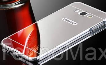 Чехол бампер для Samsung Galaxy J7 J710F 2016 зеркальный, фото 2