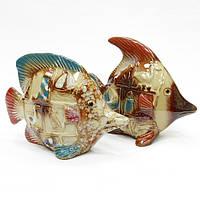 Фигурка декоративная из керамики Рыба