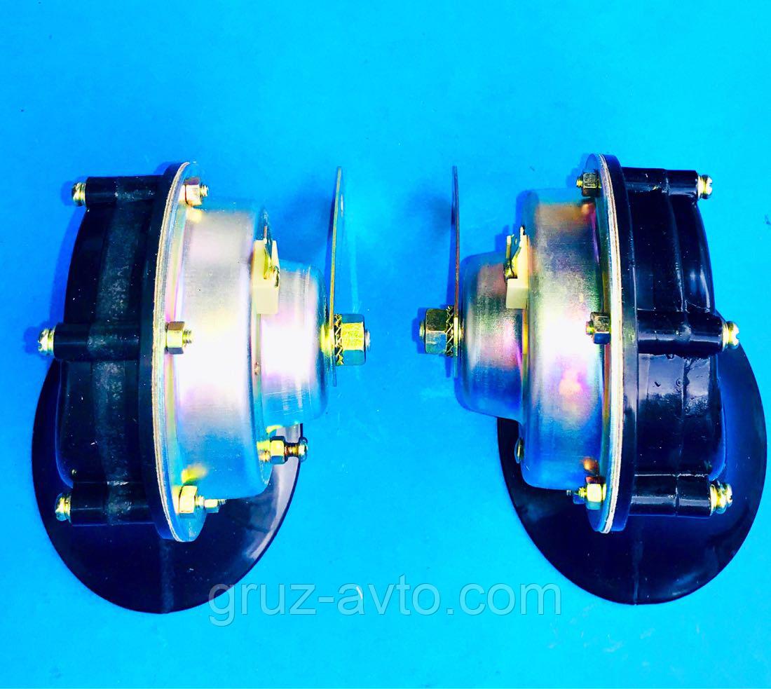 Сигнал звуковой ГАЗ ЗИЛ ПАЗ С302Д тон высокий и низкий 12 В