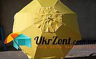 Пляжный зонт с клапаном и наклоном 1,8 м. Плотная ткань Тканевый чехол