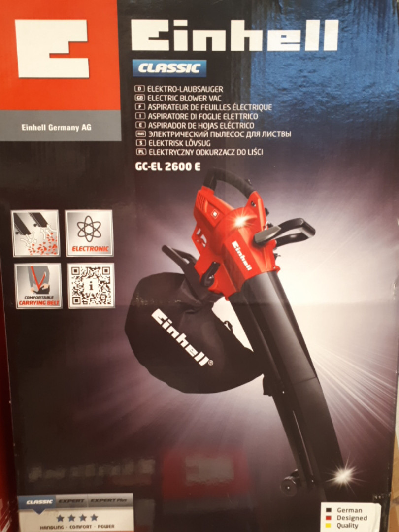Электрический пылесос для листвы Einhell GC-EL 2600 E