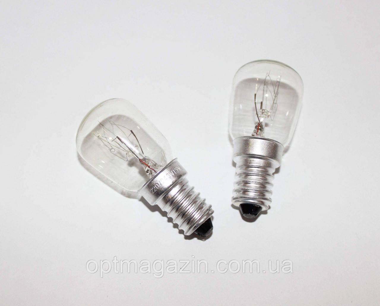"""Лампочки для холодильника и швейной машинки E14 220V 15W """"В индивидуальной коробке"""""""