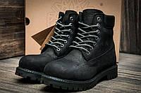 """Ботинки мужские Timberland 6 premium boot, черные (3194-2),  [  40 (последняя пара)  ] """"Реплика"""", фото 1"""