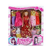 Лялька з вбранням Q32A сукні 12 шт., мікс видів, коробці, 30-33-5 см.