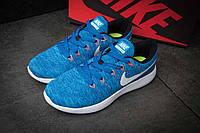 "Кроссовки мужские Nike Lunarepic Flyknit, синий (1002-4),  [  41 42 43 44 45  ] ""Реплика"", фото 1"