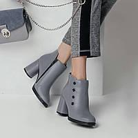 Ботинки женские на каблуке демисезон 2018