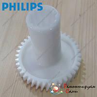 Шестерня привода шнека для мясорубки Philips HR2724, HR2725, фото 1