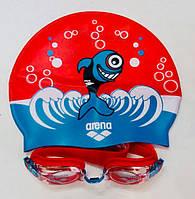 Набор для плавания детский Multi красный (на 3-5 лет), фото 1