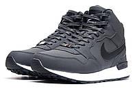 """Кроссовки мужские Nike Air Max, серые (3187-3),  [  41  ] """"Реплика"""", фото 1"""