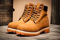 """Ботинки мужские Timberland 6 premium boot, песочные (3194-1),  [  41  ] """"Реплика"""", фото 1"""