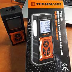 Лазерный измеритель расстояния Tekhmann TDM-40