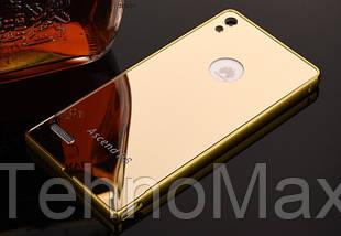 Чехол бампер для Huawei P9 Lite зеркальный, фото 3