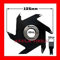 125х20 Фреза насадная дисковая пазовая для выборки пазов