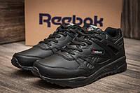 """Кроссовки мужские Reebok Classic, черные (11043),  [  44 (последняя пара)  ] """"Реплика"""", фото 1"""