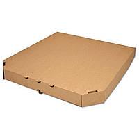 Коробка для пиццы бурая