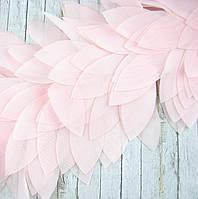 Шифоновые листья, 10см