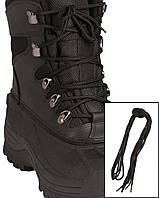 Шнурки чорні 180 см
