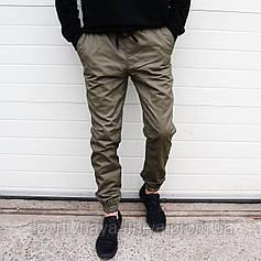 Мужские брюки Джогеры хаки