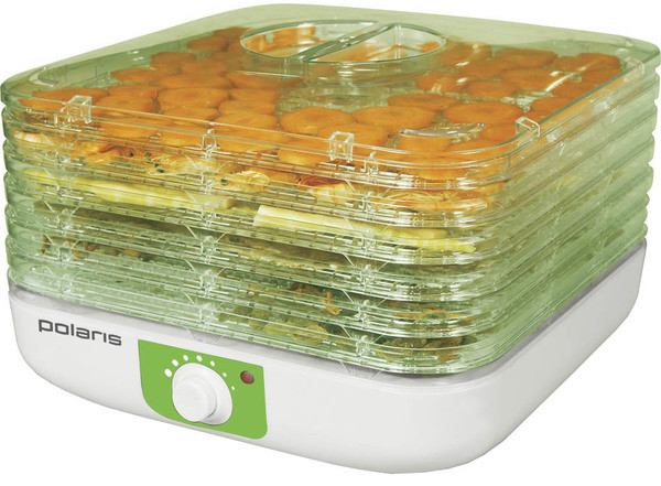 Сушка для фруктов и овощей Polaris PFD 0405 (электро сушка)
