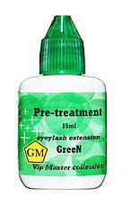 Обезжириватель для ресниц Green тм GM