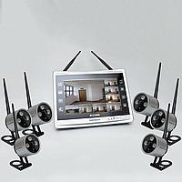 Комплект беспроводного видеонаблюдения KIT-XHD226, фото 1