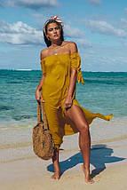 Шифоновая длинная пляжная туника 42-44 р, фото 2