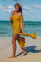 Шифоновая длинная пляжная туника 42-44 р, фото 3