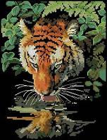 Набор для вышивки крестом Dimensions «Tiger Reflection» / «Отражение»