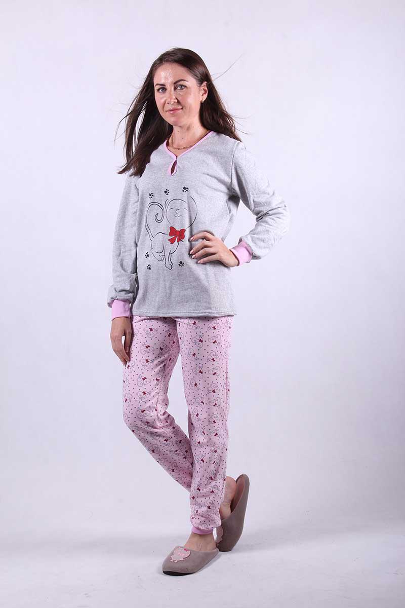 Женская теплая пижама  р.48,52