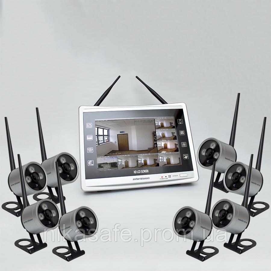 Комплект беспроводного видеонаблюдения KIT-XHD228