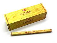 Cedar (кедр) (hem)(25/уп) квадрат аромапалочки