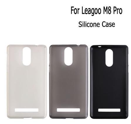 Силиконовый чехол-бампер Soft-touch для Leagoo M8 / M8pro / есть стекло /