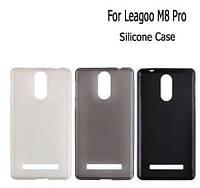 Силиконовый чехол-бампер Soft-touch для Leagoo M8 / M8pro / есть стекло оригинальное /, фото 1