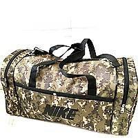 Військові дорожні сумки камуфляж Nike (коричневий)30*55