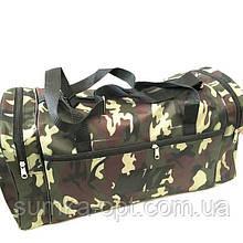 Військові дорожні сумки камуфляж Nike (зелений)30*55