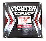 Рыболовная катушка Братфишинг, FIGHTER 3000 BAITRUNNER RD с бейтраннером 4+1 подш., фото 4