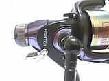 Рыболовная катушка Братфишинг, FIGHTER 3000 BAITRUNNER RD с бейтраннером 4+1 подш., фото 7
