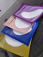 Гелевые патчи для наращивания ресниц (упаковка), 50 пар