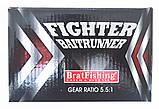 Катушка BratFishing, FIGHTER 4000 BAITRUNNER RD, с бейтраннером 4+1 подш., фото 9