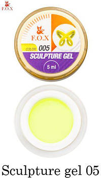F.O.X Sculpture gel (пластилин) 005, 5 ml