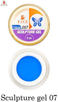 F.O.X Sculpture gel  (пластилин) 007, 5 ml