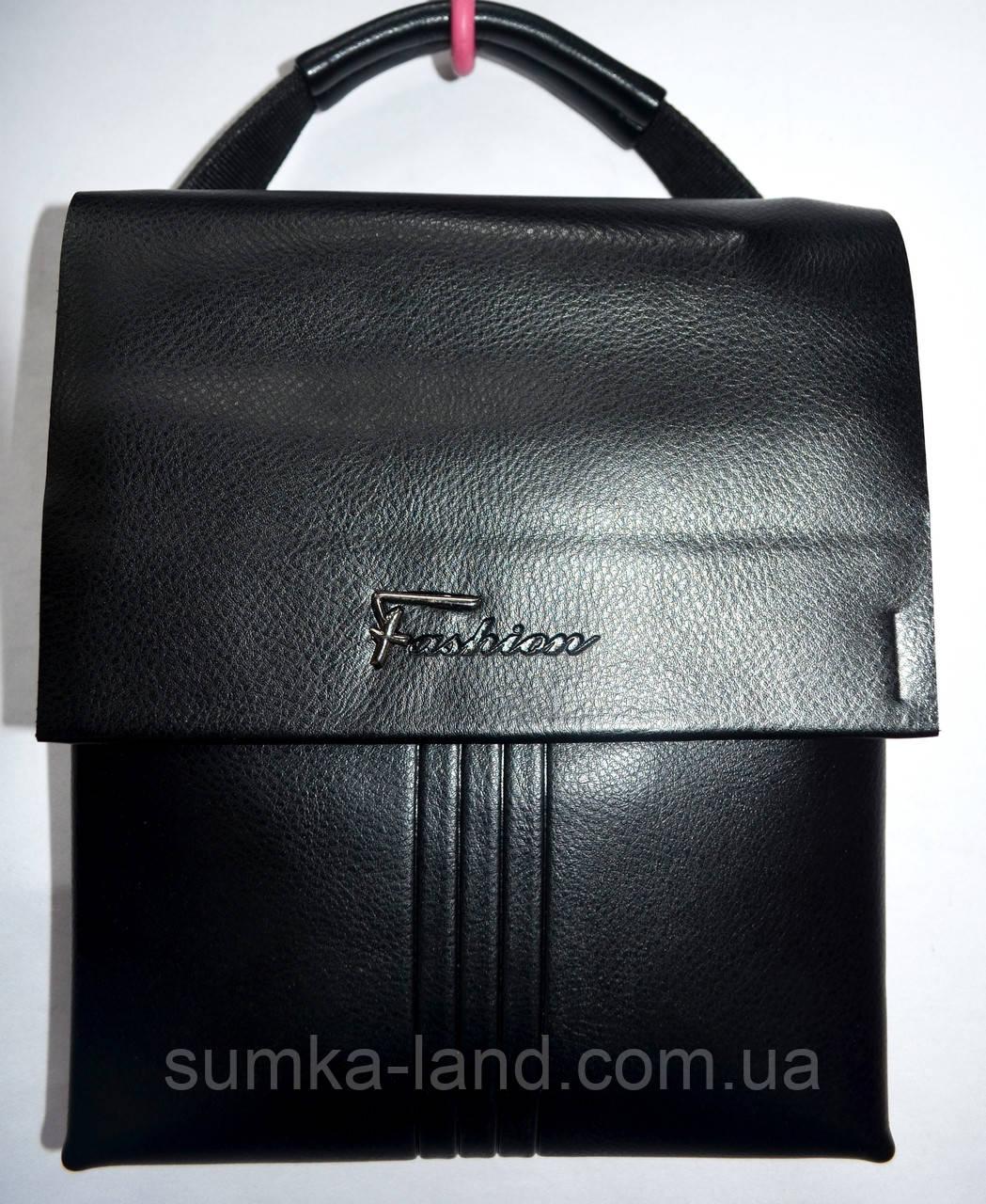 61736a0e7854 Мужская черная кожаная барсетка на плечо 20**24 см: продажа, цена в ...