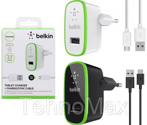 Сетевое зарядное устройство Belkin 2 в 1 для Lenovo A2010 A2580 A2860, фото 2