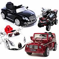 Снова в продаже ТОП модели электромобилей и квадроциклов